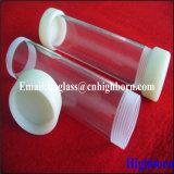 Rosca de tornillo Tubos de vidrio de cuarzo de sílice para termopar