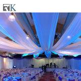 Bewegliches Rohr und drapieren für Hochzeits-Hintergrund-Dekoration