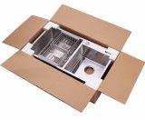 Vari formati standard inossidabili fatti a mano del dispersore di cucina di formato su ordinazione moderno
