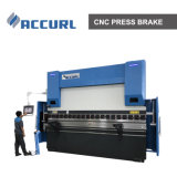 110 la tonelada de CNC Prensa hidráulica con freno DELEM DA58t sistema CNC