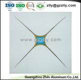 Techo de metal suspendidas en el clip de aluminio decorativo de techo