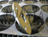 低価格CNCのファイバーレーザーの打抜き機金CNCのファイバーレーザーの金属の管の打抜き機