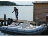 Da fibra de vidro inflável do barco de Hypalon do reforço de Liya 14FT barco inflável rígido
