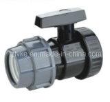 Plastic Snelle Schakelaar/snel het Koppelen/de Compressie van de Pijp/snel Schakelaar/Koppeling/Adapter/Reductiemiddel/Flexibele Koppeling/snel Koppeling (ANSI, DIN standaard-GT216)