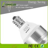 2017 ampoules équivalentes de l'ampoule 85W DEL de candélabres de DEL les plus neuves (9Watt) E12 chauffent 2700K blanc