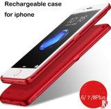 새로운 디자인된 iPhone 6 7 8 재충전용 iPhone 케이스 힘 은행
