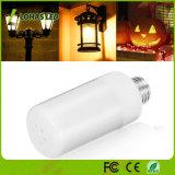 Moviendo la bombilla de luz LED creativos con lámparas de emulación de parpadeo 1800K 3-Mode llama LED Bombilla