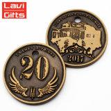 昇進のヘッド肖像画のロシアの記念品の金属のカジノのコレクションの硬貨