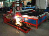 Cortador do plasma do CNC das placas de metal da folha com certificado do ISO