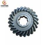 OEM Gieten van het Konische Tandwiel van het Aluminium/van het Koper/van het Ijzer/van het Zink/van het Roestvrij staal het Spiraalvormige met het Boren