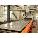 Abschleifender polierender Rostschutzstaub montieren Rollen-Förderanlagen-Stahlplatten-Granaliengebläse-Maschine