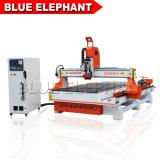 4 оси ЧПУ Engraver высокого качества древесины дерева с ЧПУ гравировальный станок для продажи Ele1530