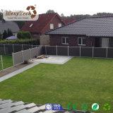 2017 панелей загородки серого цвета WPC новой конструкции водоустойчивых алюминиевых для сада