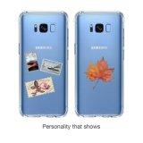 per la galassia S8 di Samsung più il coperchio, cristallo - caso molle Bumper libero del coperchio di assorbimento di scossa TPU per la galassia S8 di Samsung più 2017