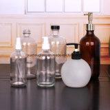 500ml&300ml limpar garrafas de vidro para Bomba de Sabão líquido com o pulverizador