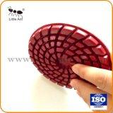 4 polegada de espessura 6 mm Diamond Almofada de polir concretas para uso Seco/Úmido