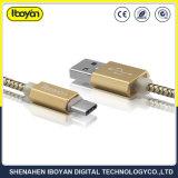 이동 전화를 위한 1m 유형 C USB 데이터 비용을 부과 케이블