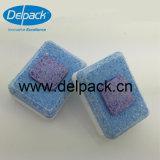 Directement tablettes hydrosolubles respectueuses de l'environnement de Dishwahing de film de Pirce d'usine, une tablette plus propre, tablette de détergent de lave-vaisselle