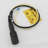 방수 옥외 기갑 케이블 어셈블리 Pdlc-Dlc 광섬유 접속 코드