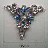 Hot Sale Kids Rhinestone Crystal Metal ornement du caisson de nettoyage du matériel de décoration