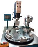 Caja de plástico ultrasónico automático de la soldadora de PP/PVC
