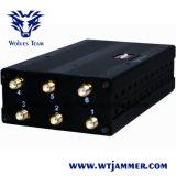 6 Stoorzender van de Telefoon van de antenne de Handbediende & Stoorzender WiFi & GPS Stoorzender