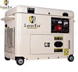 5kVA tipo silenzioso trifase generatore diesel con la copertura superiore