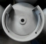LPGシリンダータンクのための製造業機械を金属で処理する亜鉛