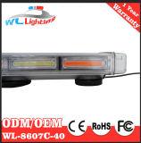 Barra clara de 10 polícias de Lightbar 100W da ESPIGA mini