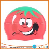 High Elasticity Heat transfer Printing Kid Swim Caps