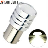 Bulbos brilhantes super do diodo emissor de luz do freio do carro de S25 2525 4SMD 20W