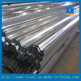 Strato galvanizzato ed ondulato semplice montato del pavimento d'acciaio di Decking