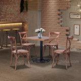 新式の正方形表の喫茶店の純木の上のレストラン表(SP-RT491)