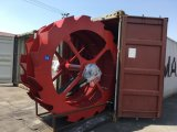Antreiber-Sand-Unterlegscheibe/fahrbarer Typ Sand-Waschmaschine