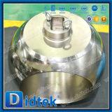 Valvola a sfera superiore forgiata ad alta pressione del perno di articolazione dell'entrata di Didtek