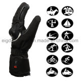 De moto professionnel des gants de chauffage par le Sauveur, batterie Li-ion rechargeable chauffées pour hommes et femmes,gants chauds pour le cyclisme moto,fonctionne jusqu'à 2.5-6 heure
