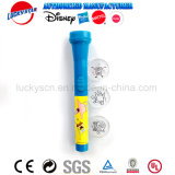 Het hete Verkopende Stuk speelgoed van de Jonge geitjes van de Toorts van de Projector Plastic Elektronische