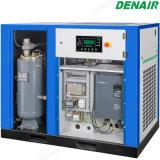 Compresseur d'air à haute pression triphasé injecté par pétrole à deux étages de vis du flux 415V