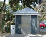 Для мобильных ПК общественного туалета, мобильный туалет, Портативный туалет, движимые туалет