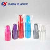 copo bebendo plástico da cor 7oz de prata