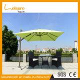 مربّعة بوليستر علويّة رومانيّ قهوة متجر شمسيّة خارجيّة حديقة فناء مظلة أثاث لازم