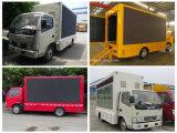 Dongfeng 4X2 LED que hace publicidad del vehículo 5 toneladas de carro móvil del LED