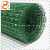 Malha de arame soldado com revestimento de PVC para a construção e da Agricultura