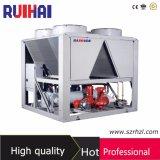 Refroidisseur d'eau refroidi par air de vis pour la machine de moulage par injection