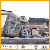 Фонтан гранита Китая горячего сбывания естественный/мраморный каменный напольный украшения