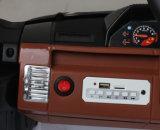 Conduite électrique de 2 gosses de portée sur le jouet de véhicule avec le joncteur réseau