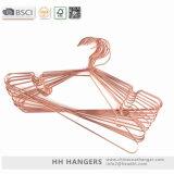 La luz de hh percha de metal de alambre de cobre, cable de cobre perchas de metal para vaqueros
