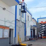 Elevador da plataforma de trabalho aéreo do mastro (altura máxima 8m da plataforma)