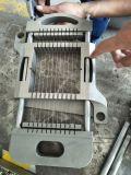Máquina de estaca da carne/carne congelada Dicer de Dicer /4 -120mm da carne
