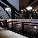 9 Lichten van de Muur van de Omheining van het Gazon van de Verlichting van de Tuin van de Gootsteen van de LEIDENE de Waterdichte ZonneNacht van de Lamp Lichte Lichte Openlucht